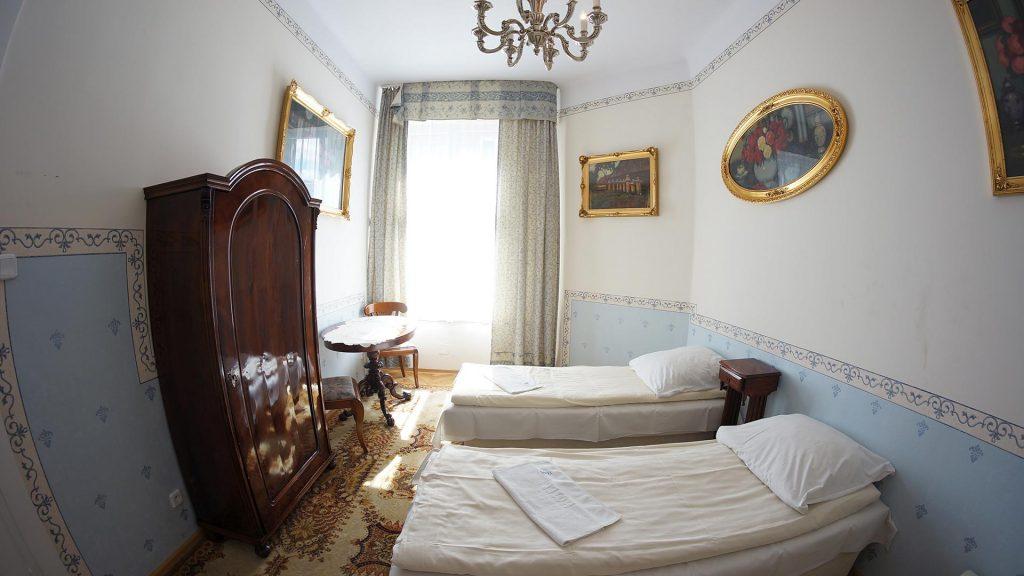 przestronne pokoje w centrum Krakowa