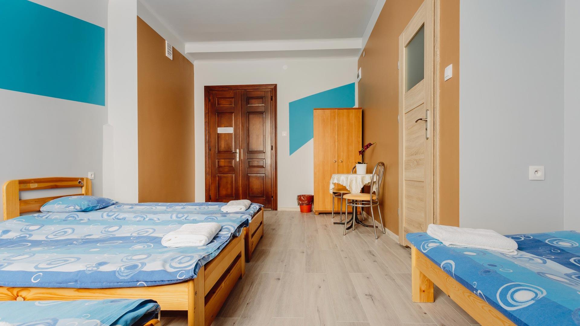 pokoje w hostelu Tara House