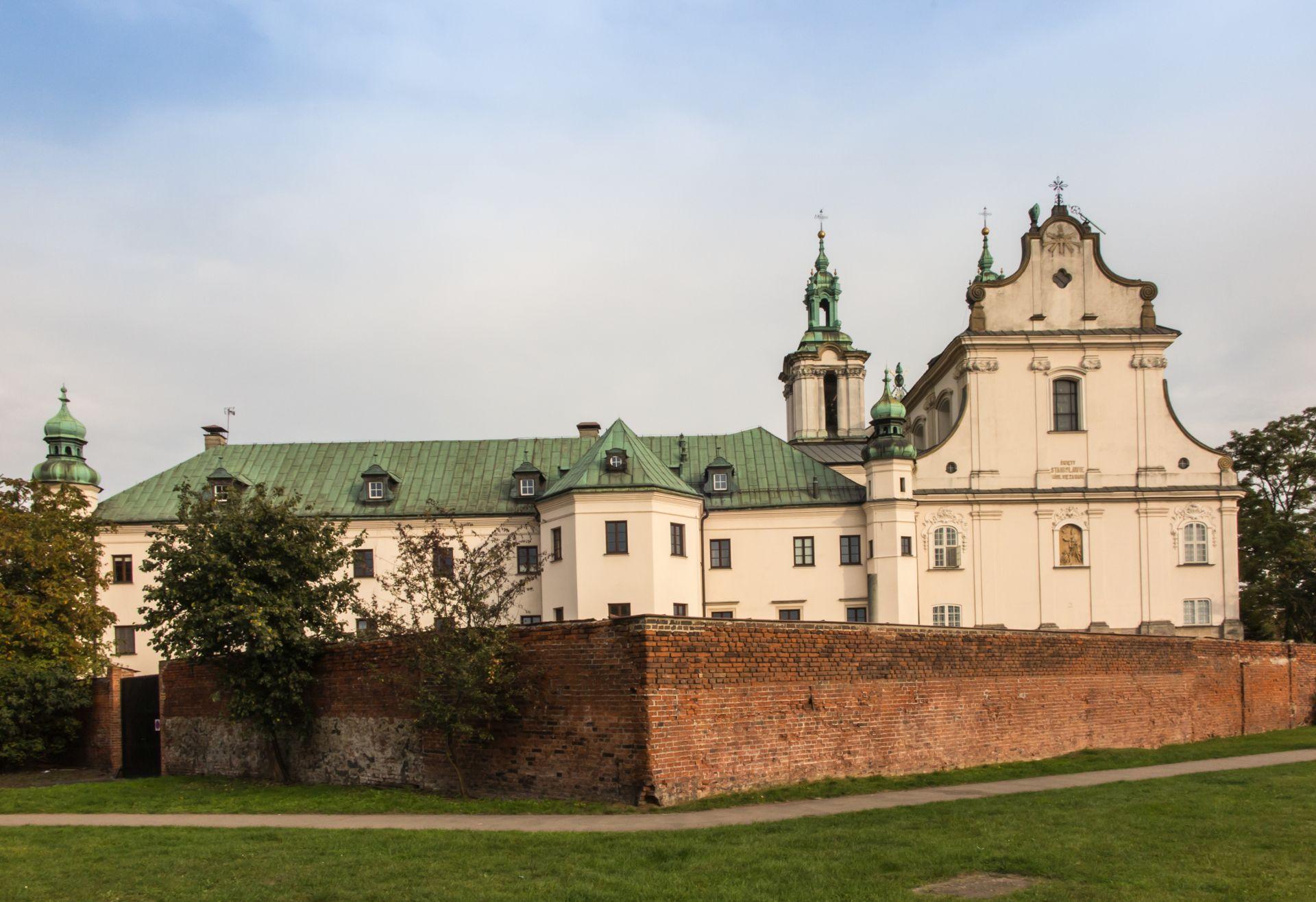 Pauline Church on the Rock in Krakow, Poland,