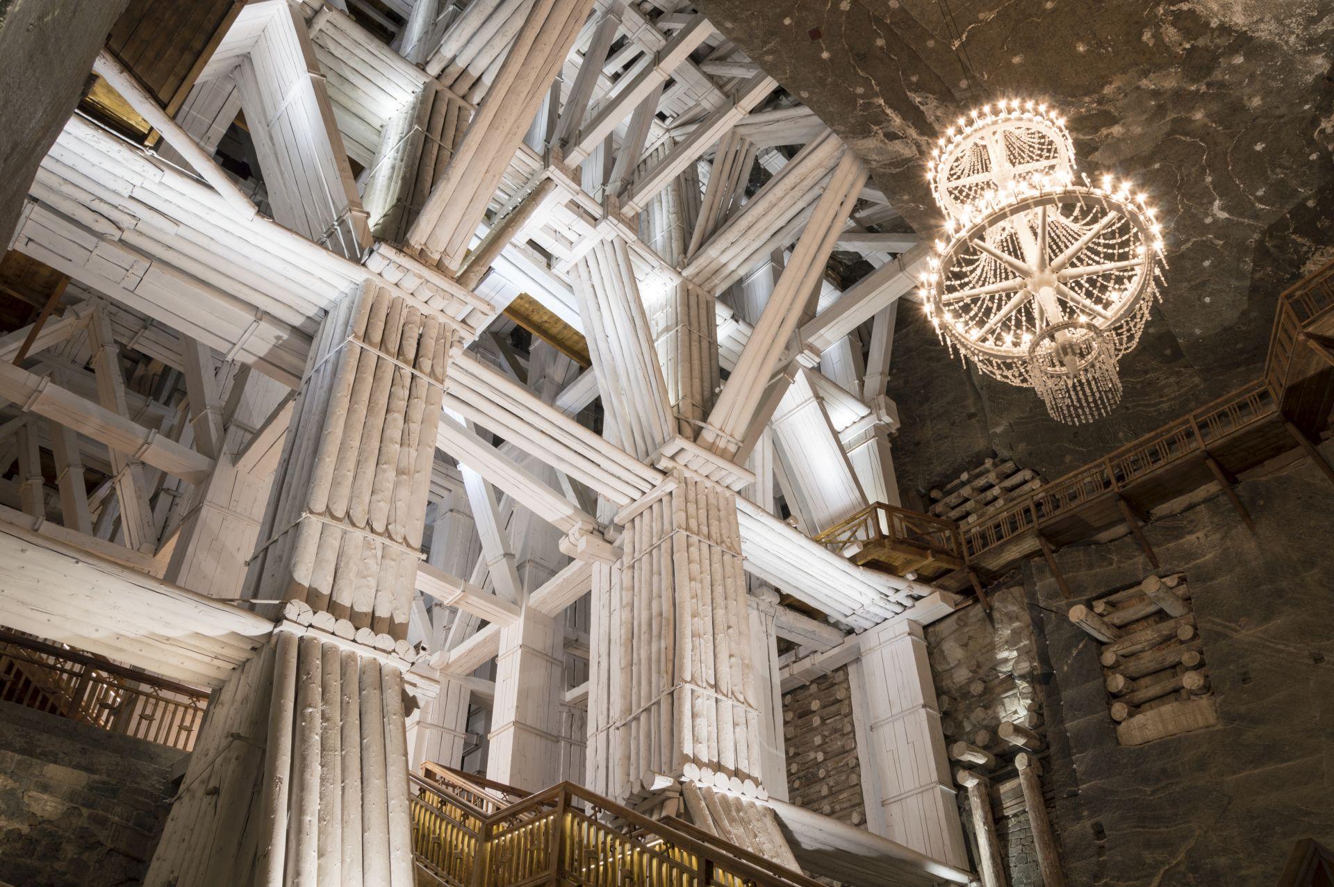 Underground Chamber in the Salt Mine, Wieliczka